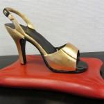 Sandalett i guld (Medium)